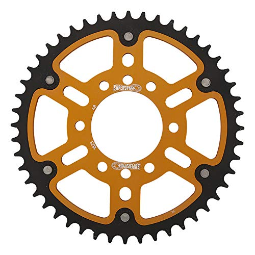SuperSprox RST-1825-48-GLD Gold Stealth Sprocket