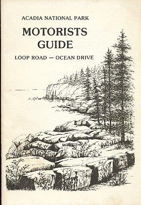 (Acadia National Park Motorists Guide: Loop Road - Ocean Drive)