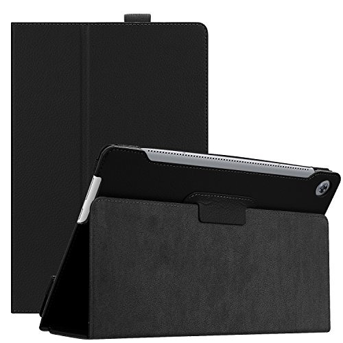 Huawei MediaPad M5 10.8 Case, Ratesell Slim Book Leather Folio Stand Case Cover With Auto Wake / Sleep, Pencil Holder and Multiple Viewing Angles for Huawei MediaPad M5 / M5 Pro 10.8