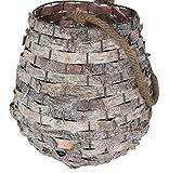 Liveinu Handmade Chinese Rattan Lantern by Artist Classic Style Lamp Candle Holders Lantern M