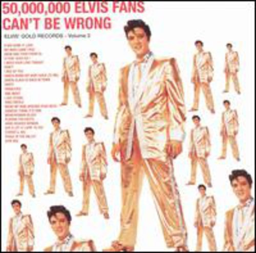 Elvis Presley Rare Records - 50,000,000 Elvis Fans Can't Be Wrong, Vol. 2