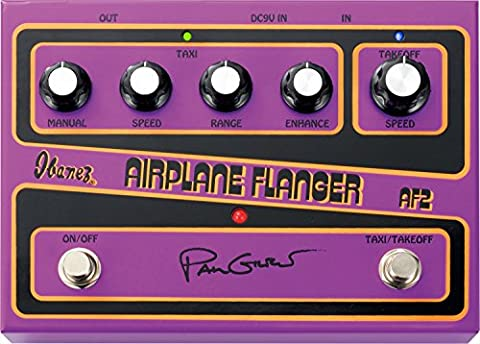 Ibanez AF2 Paul Gilbert Signature AIRPLANE Flanger Pedal for Guitar (Ibanez Chorus Pedal)