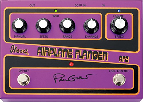 - Ibanez AF2 Paul Gilbert Signature AIRPLANE Flanger Pedal for Guitar