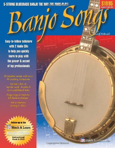 - Banjo Songs Book (with 2 Audio CDs)