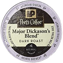 Peet's Coffee Major Dickason's Blend Coffee, Keurig K-Cups, 75 Count (Packaging May Vary)