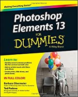 Photoshop Elements 13 For Dummies Front Cover