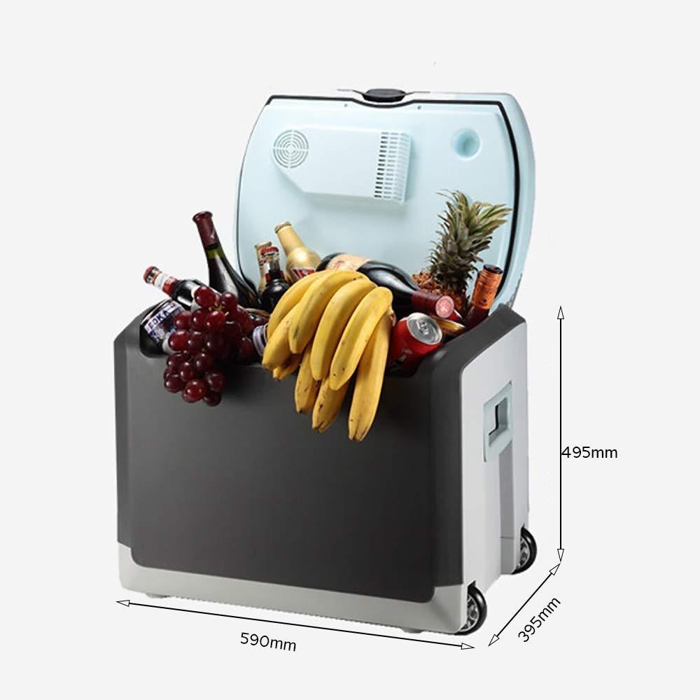 HUIQC Compresor portátil Frigorífico Congelador (40 litros ...