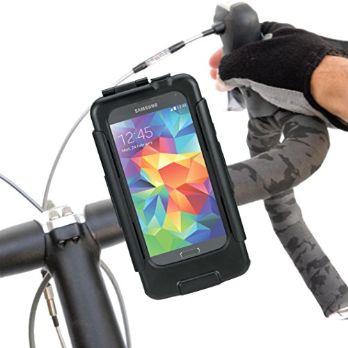 UPC 683405675761, Tigra® BikeConsole Galaxy S5 Waterproof Shock-Protected Bicycle Holder Mount