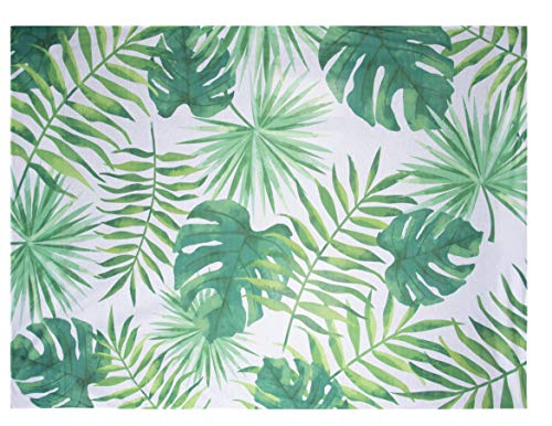 Juvale Palm Leaves Tapestry - 6 x 4.5 Feet Tropical Palm Tree Foliage Wall Hanging Decoration, Vintage Nature Headboard Wall Art for Home, Dorm Room, Office, Store, 72 x 54 Inches -