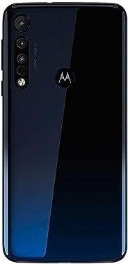 Celular Motorola Moto One Macro Azul Espacial 64gb Câmera Tripla 13mp+2mp+2mp