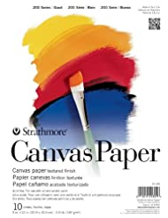 Strathmore 200 Series Canvas Paper Pad, 9\