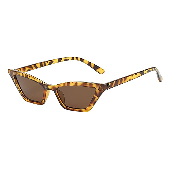 Worsworthy Mujeres Vintage Cat Eye Sunglasses Retro gafas ...