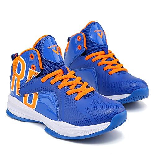 Niños Para 3 azul Baloncesto De Zapatos qvfx0wBx