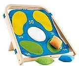 Hape Target Toss Game Kid's Wooden Indoor/Outdoor Active Toddler Play
