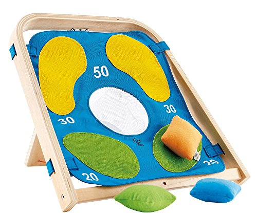 Hape Target Toss Game Kid's Wooden Indoor/Outdoor Active Toddler Play by Hape