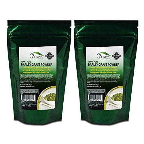 Barley Grass Powder 1lb - 100% Pure Premium Nutrient-Dense Superfood