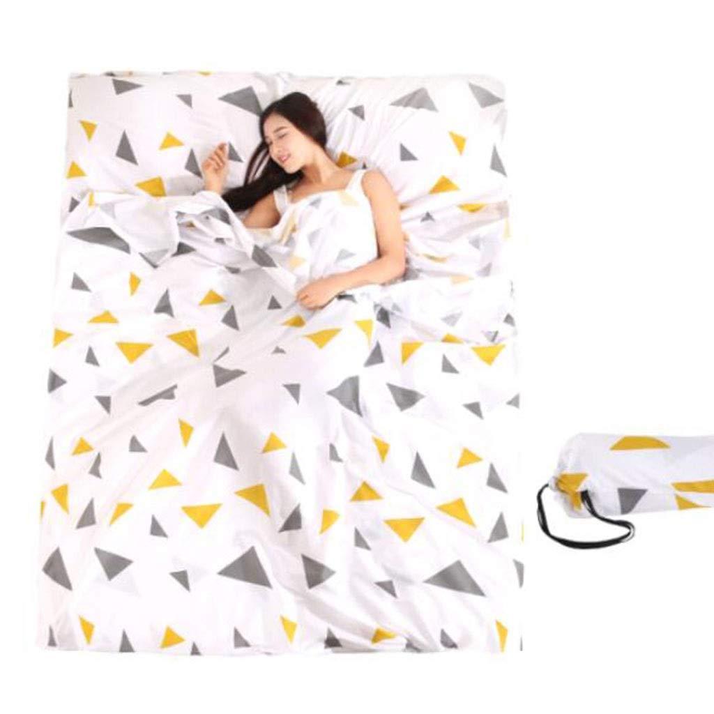 LKKSP Reiseschlafsack, Hygienebetten für Hotels, Baumwolle für Erwachsene (Farbe   D)
