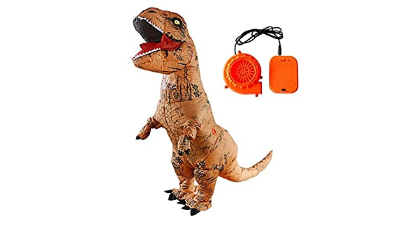 Disfraz de dinosaurio hinchable para adultos, juguete ...