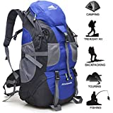 Loowoko Backpack 40L Lightweight Waterproof Travel Backpack/foldable & Packable Hiking Daypack