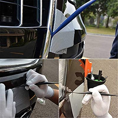 SETLUX Car Vinyl Wrap Tool Kit 7 in 1 Flexible Magnetic Micro Stick Squeegee Curves Slot Tint Tool Kit for Car Wrapping and Window Tint Installing: Automotive