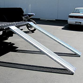 Atv Truck Ramps >> Atv Load Ramps Atv Truck Ramps Quad Ramp Lawn Mower All Purpose Ramps With Leveling Plates