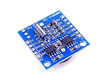 Tiny RTC I2C AT24C32 DS1307 Real Time Clock Module with EEPROM ARM PIC for  Arduino UNO R3