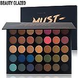 #5: Beauty Glazed Makeup Eyeshadow Palette 35 Colors Eye Shadow Powder Make Up Waterproof Cosmetics