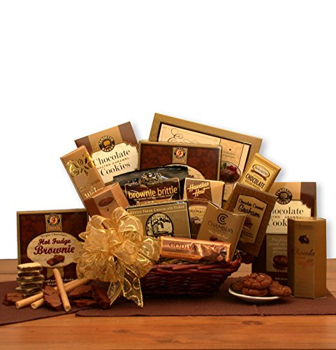 (A Gift of Chocolate Gourmet Food Gift Basket)