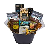Dried Fruit & Nut Delights Holiday Gift Basket Full of Delicious Snacks