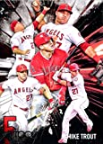2017 Topps Five 5 Tool Mike Trout Anaheim Angels Baseball Card #5T-1