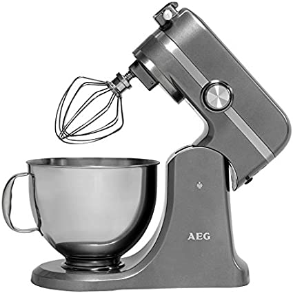 AEG KM 4400 - Batidora (1000 W), color gris: Amazon.es: Hogar