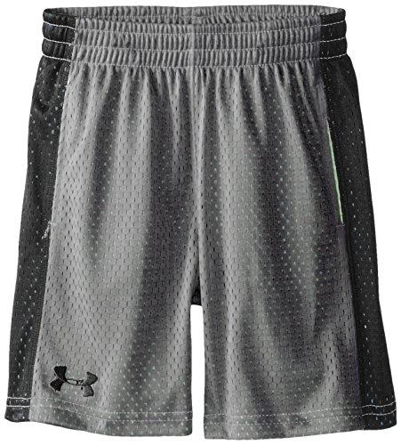 Under Armour Little Boys' Zinger Knit Short, Graphite, 7