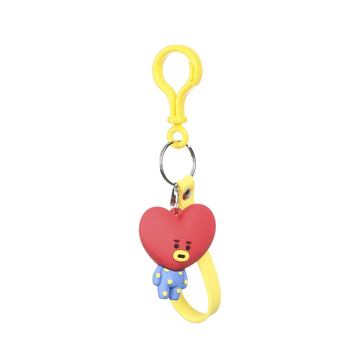 Amazon.com : Cartoon Keychain Cute Key Ring Wallet Purse Bag ...