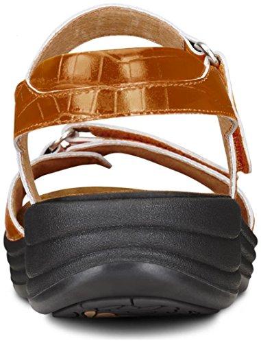 Dr. Comfort Women's Rachel Peanut Brittle Sandals by Dr. Comfort (Image #4)