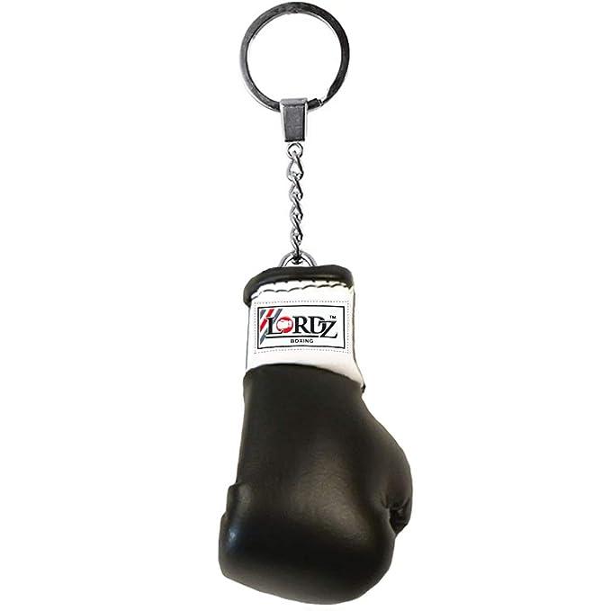 Lordz Mini Boxing Glove Key Ring  Black  Keyrings   Keychains