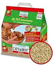 CAT'S BEST Öko Plus Katzenstreu 4 x 10l