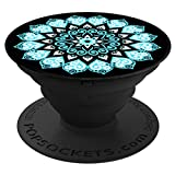 PopSockets: Collapsible Grip & Stand for Phones and Tablets - Peace Mandala Sky