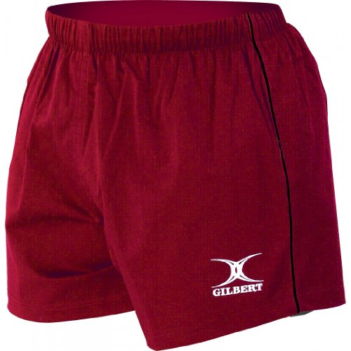GILBERT Match Men's Short, Red, XL