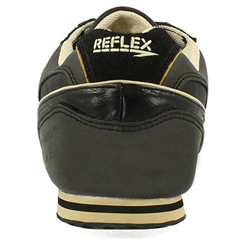 Reflex , Herren Outdoor Fitnessschuhe Schwarz