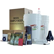 Beer. Simply Beer. - 5 Gallon Beer Brewing Starter Kit with Pale Ale Recipe Kit