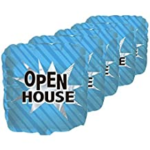 Open House Q-Bloon (18 Inch Mylar) Balloon Party Decorations Pkg/5
