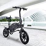 urbetter-Bici-Elettrica-Pieghevole-48V-400W-Motore-velocita-Massima-45-kmh-Batteria-75Ah-14-Pollici-Bicicletta-Elettrica-Pedalata-Assistita-Unisex-Adulto-B2