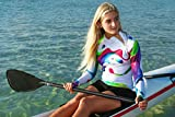 Women's Rash Guard Swim Shirt Long Sleeve Swimsuit
