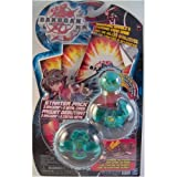 Reaper, Gorem and Mystery Marble Green Bakugan Battle Brawlers Starter Pack Series 1 with 3 Metal Gate Cards