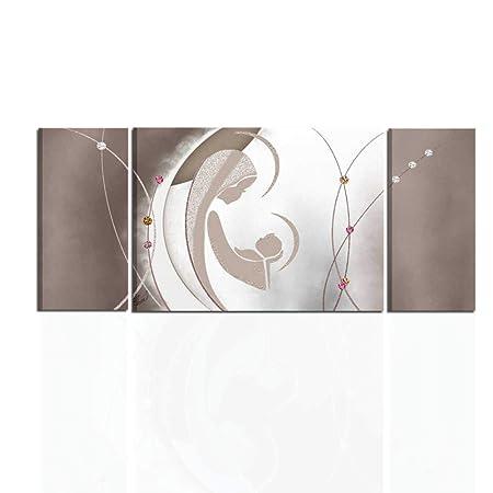 I Colori del Caribe Quadri Moderni Astratti SACRI CAPEZZALI per Camera da  Letto Olio su Tela Dipinti A Mano Marrone Alta QUALITA\' Made in Italy GENESI