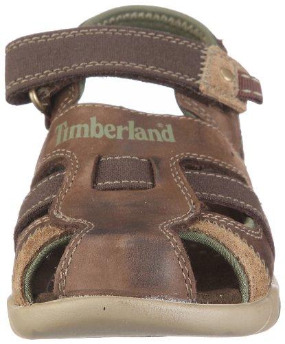 Timberland Sport Casual Sandal Ftk Power Play Fisherman - Sandalias Unisex Niños Braun/Brown w/ Green