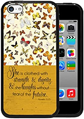 Amazoncom Iphone 5c Proverbs 3125 Bible Quote