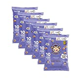 Messy Monkeys Pizza Flavored Whole Grain Bites – BULK CASE of 6 bags (Each with 10 Individual Single Serving 0.5oz Bags, 60 total) Review