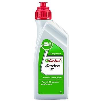 Castrol 14565600 Garden - Aceite para motosierras y máquinas cortacésped (2T, 1 l): Amazon.es: Coche y moto