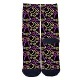Wizard hat Custom Socks Street Fashion Socks Hip Hop Street Professional Skateboard Sports Socks Black